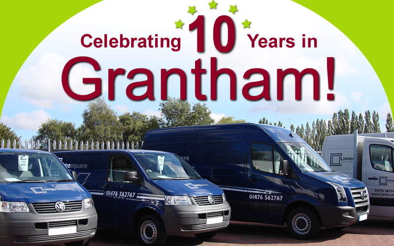 Celebrating 10 Years in Grantham!