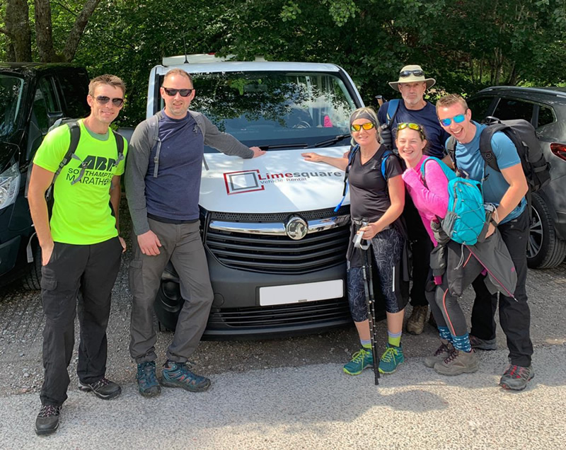 Driving Benchmark to complete the National 3 Peaks Challenge