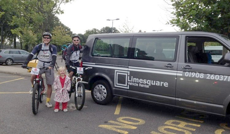 Limesquare aids endurance cyclists for British Heart Foundation