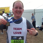 Lee Davies runs Reading Half Marathon